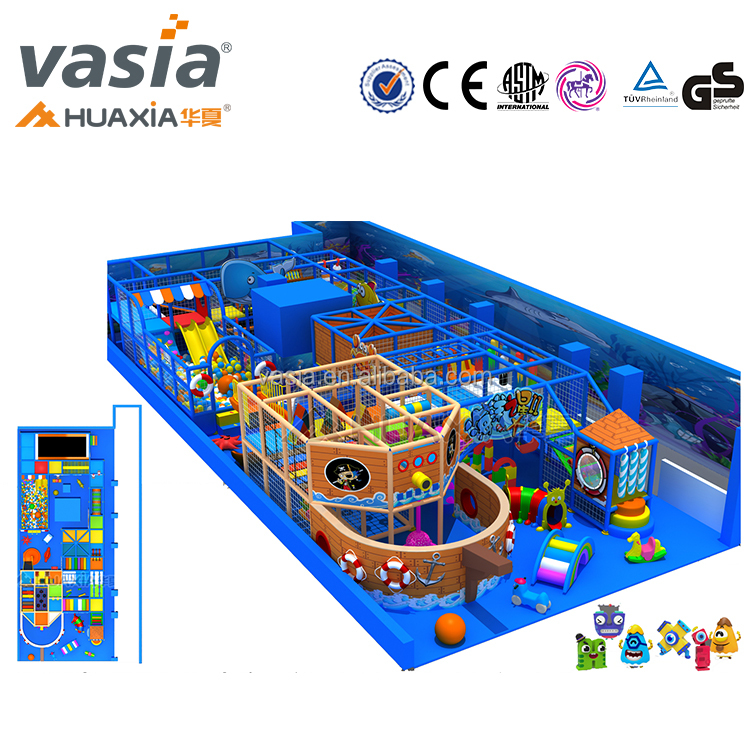 2017 new theme customized Design Running Free Ocean Ball Baby Mat Indoor Playground
