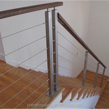 tuyau carr en acier main courante en fer forg garde corps pour escalier buy garde corps en. Black Bedroom Furniture Sets. Home Design Ideas