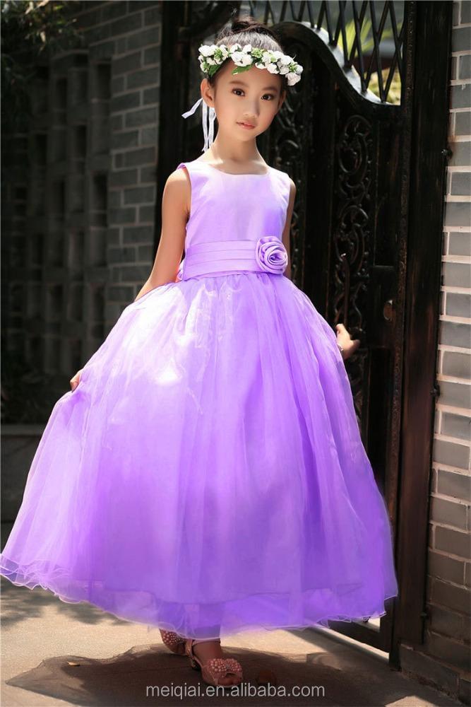 DHL libre Alibaba vestidos niñas sin mangas vestido de novia tutú ...