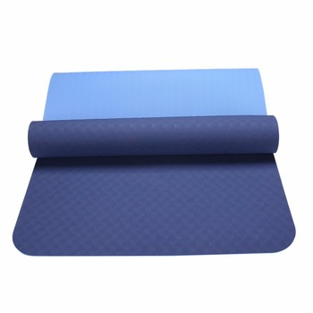 Eco Friendly Recycled Color Changing Yoga Mat Material Rolls With Strap Wholesale