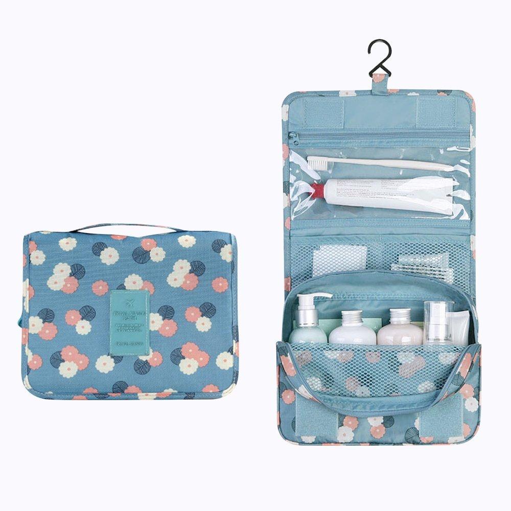 Buy Andes Small Camping/Travel Toiletries Hanging Wash Bag Make Up ...