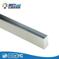 40W 4ft led track rail light mounting led linear trunking lamp fixture