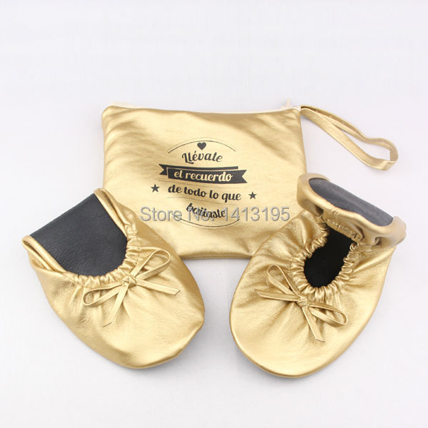 29c6a1de4 Get Quotations · Free shipping ! Women s Rollable Sole Foldable comfortable  Dance Ballerina Ballet Flats sexy Party Wedding Travel