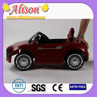 high quality Alison C03101 cheap kid cars baby car race newest rechargeable battery toy car