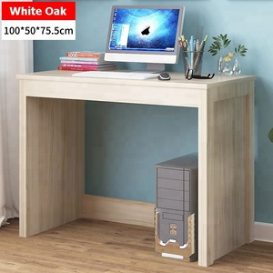 Modern Computer Desk Study/Office/Kids Room Light Wood Laptop Table