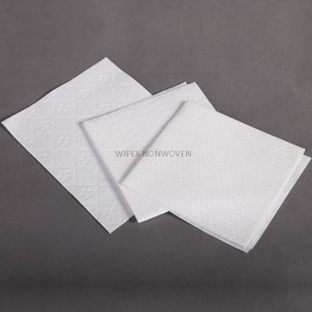 High quality nonwoven disposable patient wipes