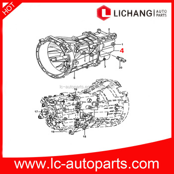 Genuine Auto Parts 4C1R 7K400 BB For Ford Transit V347 V348 REAR CASETRANS