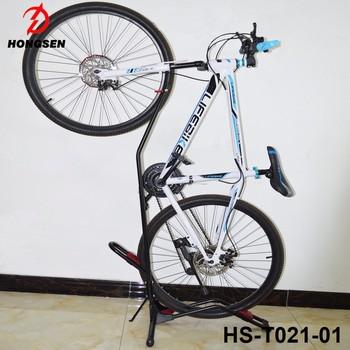 China Hongsen Steel Bicycle Parking Stand Vertical Bike Storage Rack Indoor  Saving Space