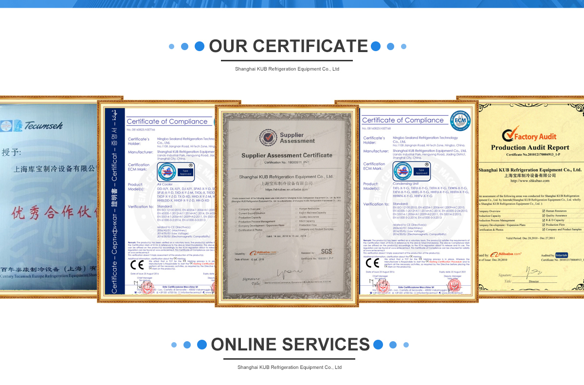 Shanghai KUB Refrigeration Equipment Co , Ltd  - Condensing