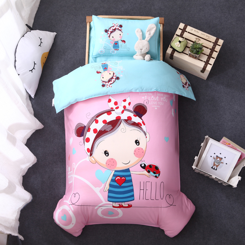 100 Cotton Baby Girl Crib Bedding Sets Bed Linen Kids Buy Bed Linen Kids Baby Girl Bedding Sets Baby Crib Bedding Set Product On Alibaba Com