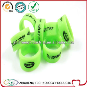 2013 factory direct sale OEM cheap soft silicone four/two/thumb/ finger ring