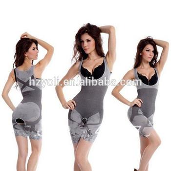 7be49c91d762d Fashion Underwear Sexy Women Shapewear Perfect Women s Full Body Wraps Bodysuit  Bamboo Body Shaper