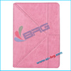 BRG-2014 New arrival stand case for ipad air,for apple ipad air smart case