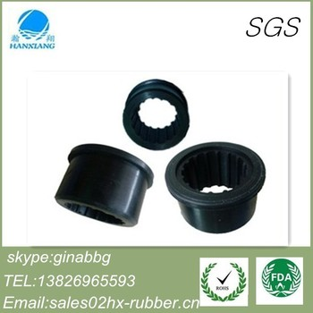 Dongguan factory customed silicone rubber tube sleeve for electronic instruments