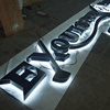 3d advertising sign high quality backlit letters free standing acrylic letters