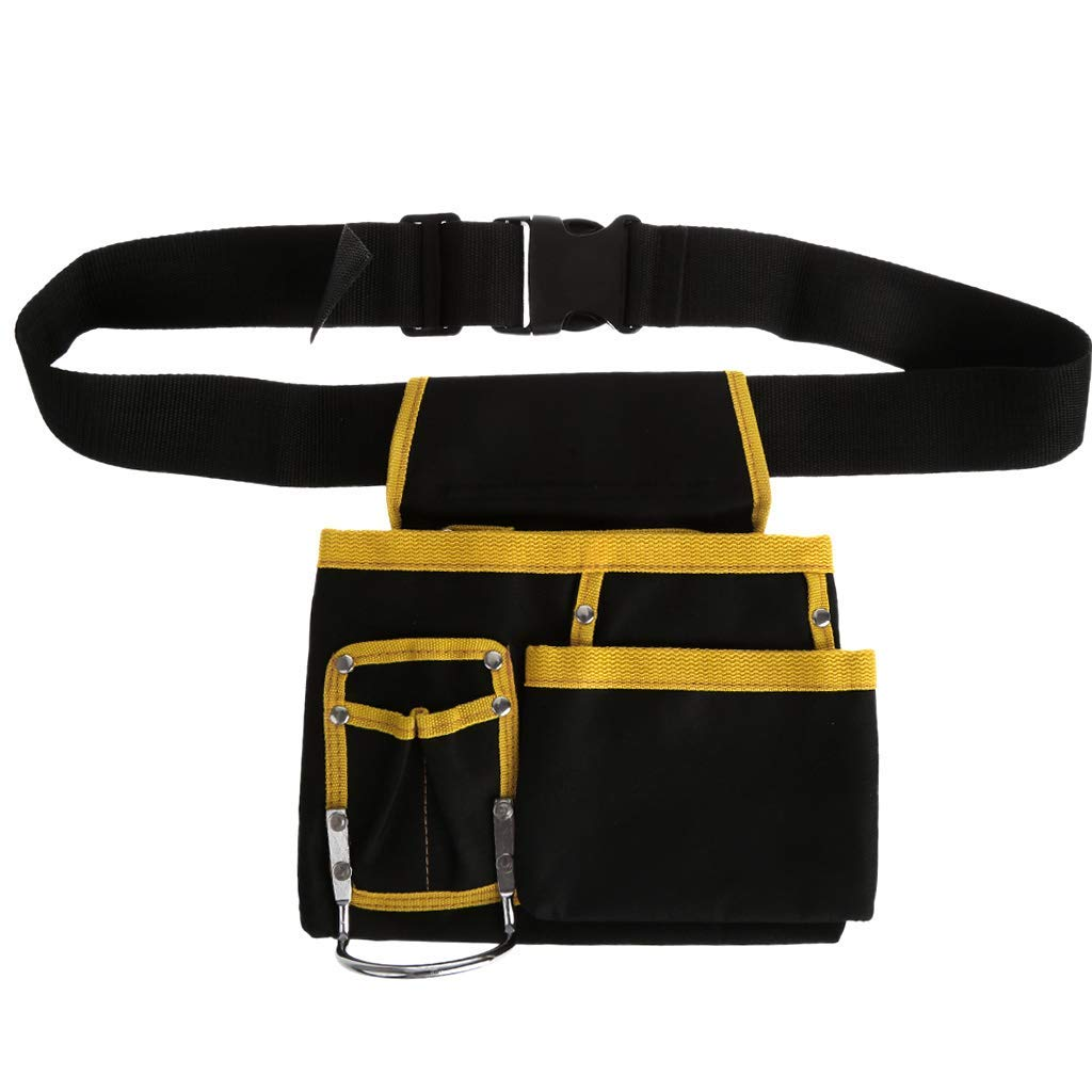 Electrician Tool Bag Waist Pocket Utility Pouch Belt - Multi-functional Tool Storage Holder Organizer For Woker - Oxford Cloth Waterproof
