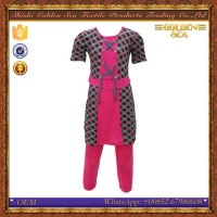custom printed design turkish Middle east wholesale childrens clothing