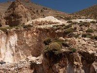 Deposit Of Calcite Calcium Carbonate