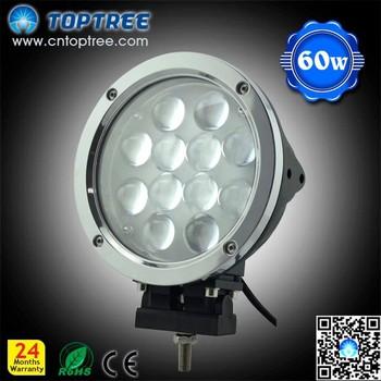60w Cree Led Car Spotlights 7 Led Worklight Led Work Light For Truc...
