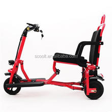 2018 new hot sale safe cheap tricycle lithium battery electric scooter