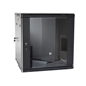 "SPCC cold rolled steel 19"" 12u server rack data cabinet with tempered glass door"
