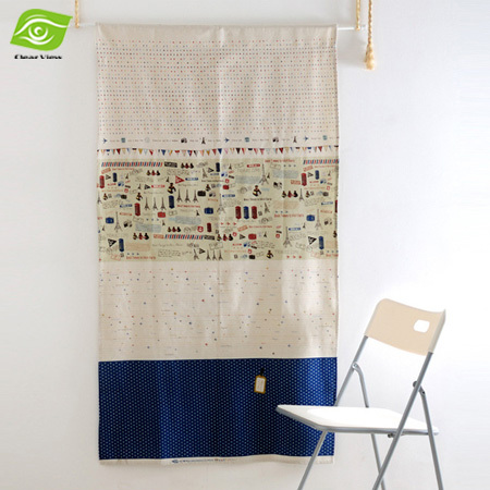 Korean Style Home Decoration Window Curtains For Living Room Summer Cloth Mosquito Curtain 140*80CM