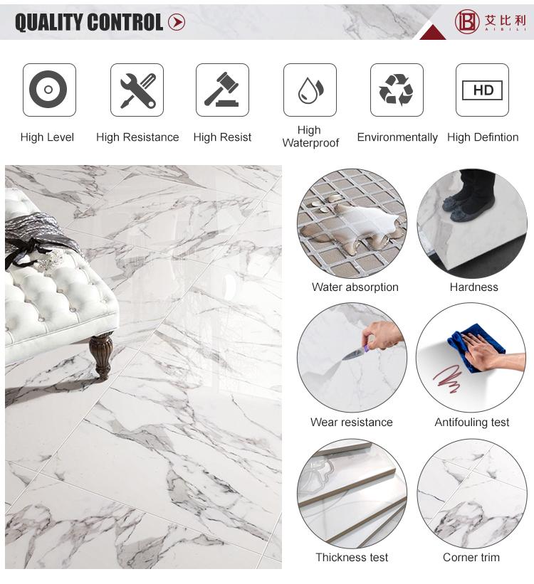 Cerámica 3d color Gris Cemento azulejo de piso al aire libre y de interior gradern baldosas de piso