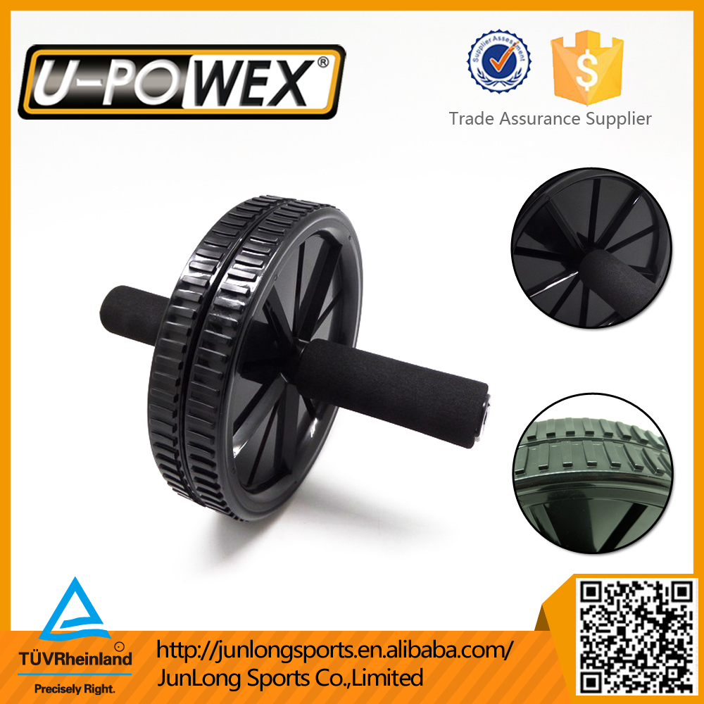 Home fitness equipment exercise wheel , AB wheel with resistance band