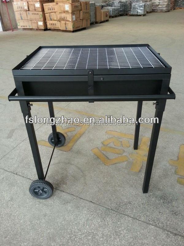 grande taille en plein air barbecue charbon de bois. Black Bedroom Furniture Sets. Home Design Ideas