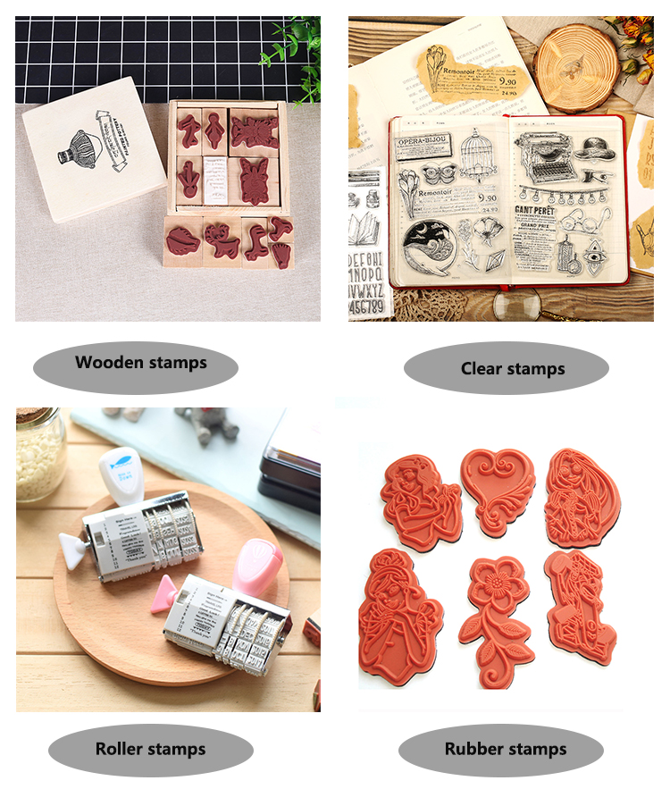 BSCI audit Factory photo album decoration silicon clear rubber stamp sets for DIY card making