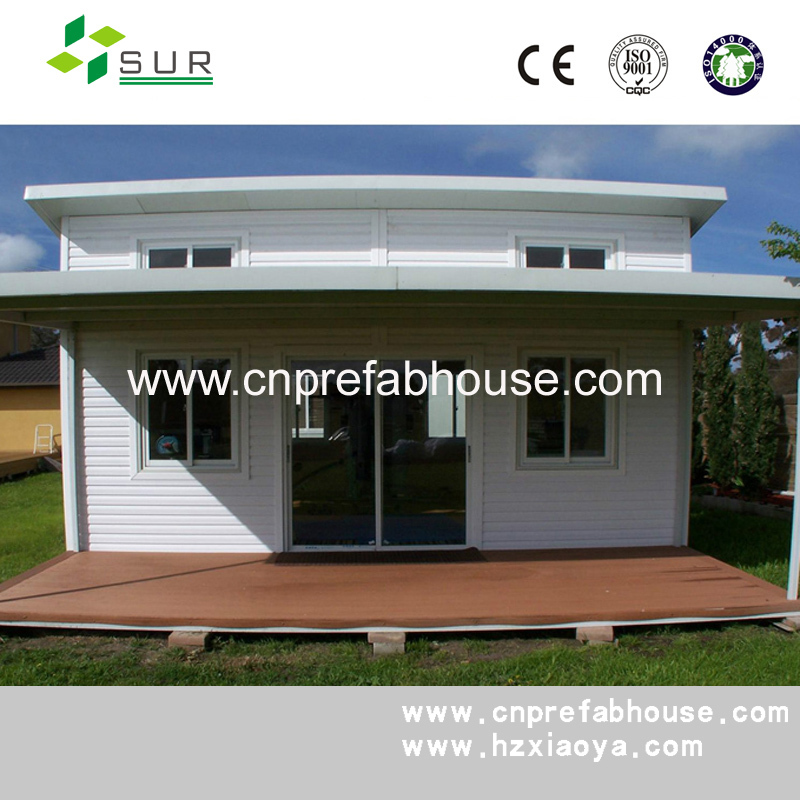 prefabricated concrete flat roof house designs
