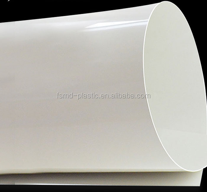 White Color High Impact Polystyrene HIPS Plastic Sheet Roll