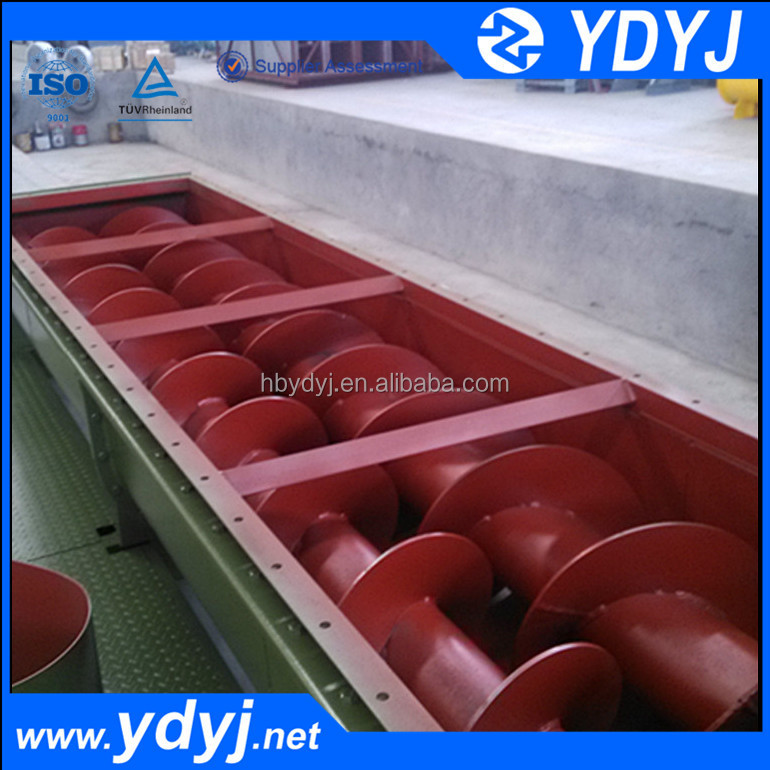 2017 new type Flexible Twin shaft screw conveyor