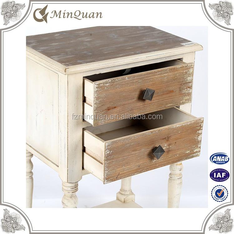 hout woonkamer meubels kast divider rustieke houten nachtkastje