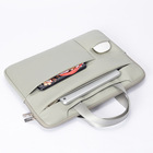 "Wholesale Canvas Laptop Sleeve Case Cover Bag for Macbook Air Pro Pad 13""15"""