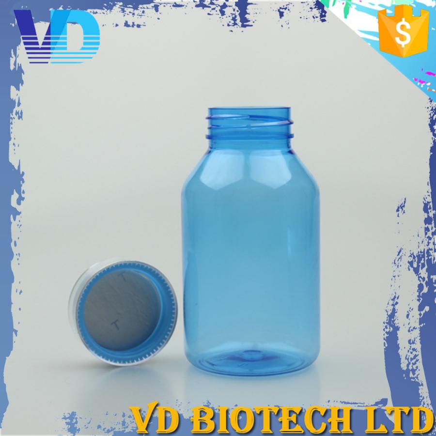 Hot Sale Custom Color Pet Transparent Plastic Bottle With