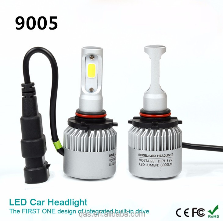 Best selling 6500k white beam led lights for cars With unique optical design for used cars