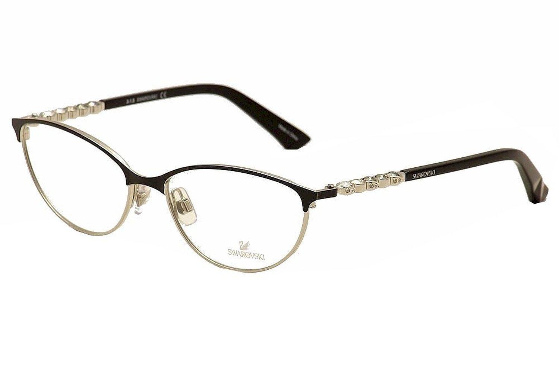 79d4839cc7 Get Quotations · SWAROVSKI SK 5139 Eyeglasses 001 Shiny Black