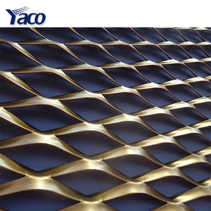 Diamond shape copper expanded metal mesh price m2