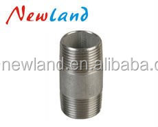 NL12417 Hot sales high quality staniless steel pipe nipples full threaded