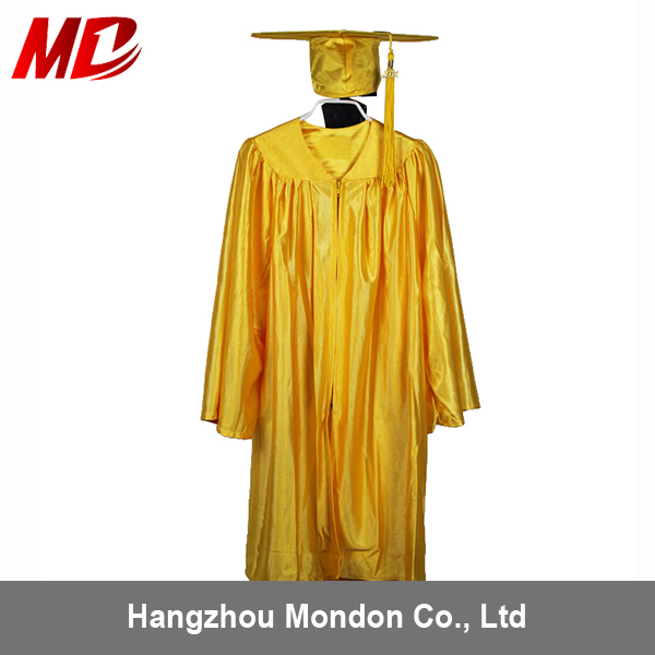 Kindergarten Graduation Cap And Gown Shiny Gold - Buy Kindergarten ...