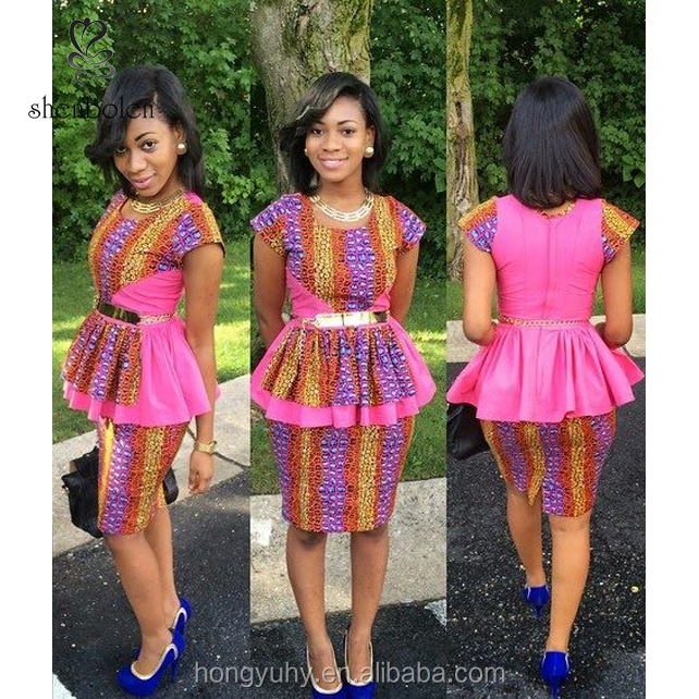 Vêtements M2838 robe Cire Avec Africaine D'impression De Dashiki Deux Mode Tissu Robe Buy Africaine Style Pièces FculK35T1J