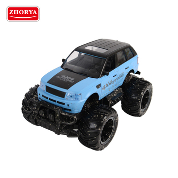 Zhorya big wheel toy pickup remote control climbing  kids off road electric car