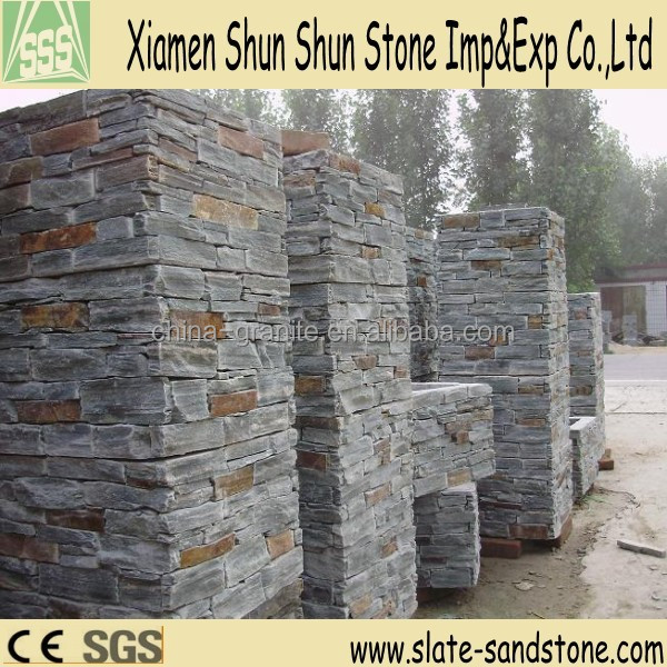 Hot sell exterior wall board stone slate with narural surface