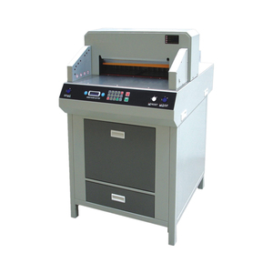 SG-4606HD paper roll to sheet cutting machine guillotine