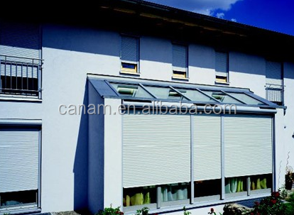 Home exterior aluminium window metal rolling shutter