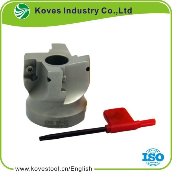1p CNC  Lathe Face  Milling Cutter  BAP400R50-4T-22  For APMT1604 Insert