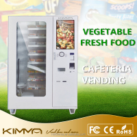 Fruits and vegetables vending machine by conveyor delivery
