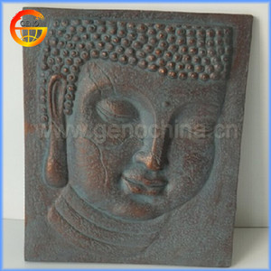 new design fiberglass buddha wall hanging board
