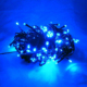 Solar decoration color changing holiday christmas outdoor led serial string light